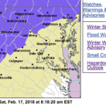 Winter Weather Advisory - CANCELLED