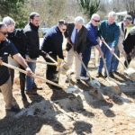 Nelson : Schuyler : Groundbreaking For Earl's Meadow Held This Past Weekend