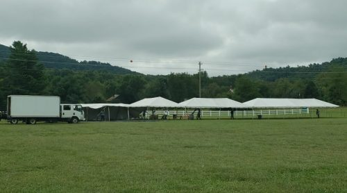 Nelson : Nellysford - Nelson Farmers Market Tents To Go Back Up Next Week