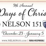Nelson 151 Twelve Days of Christmas Continues Through Jan 5th 2019