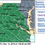 FLOOD WATCH : Friday PM To Saturday PM Across Blue Ridge : Heavy Rains & Snow Melt (Replaced & Updated)