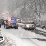 Winter Weather Settles Across The Blue Ridge : Roads Becoming Hazardous : Updated 10:40 AM