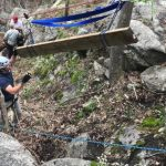 Wintergreen : With A Little Help WPOA Begins Stair Replacement Near Vista On One of Their Trails