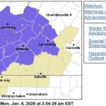 First Winter Weather Advisories Issued For Tuesday - EXPIRED