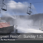 Snowmaking Resumes At Wintergreen Resort