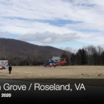 Peagsus Lands In Beech Grove - Transports Critically Injured Person In Logging Accident