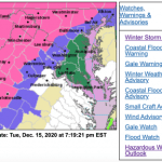 Winter Storm Warning In Effect For Much Of Area - EXPIRED