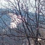 Smoke At Wintergreen From Controlled Burn By U.S. Forest Service