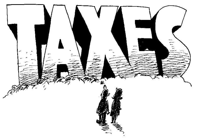 Public hearing tonight on real estate tax hikes, road plans