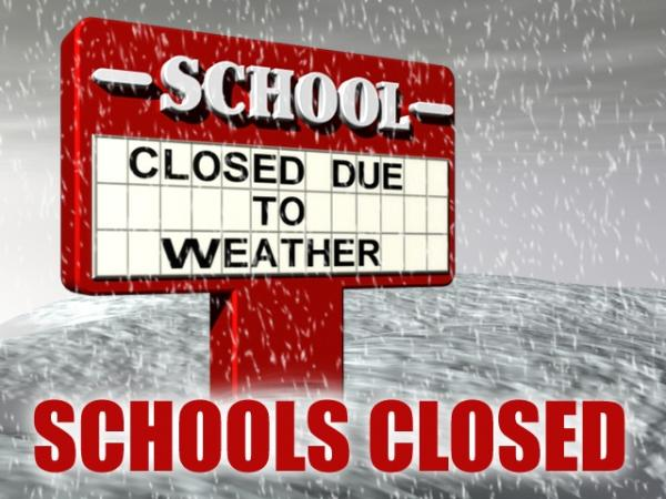 Weather closes schools early along with other events