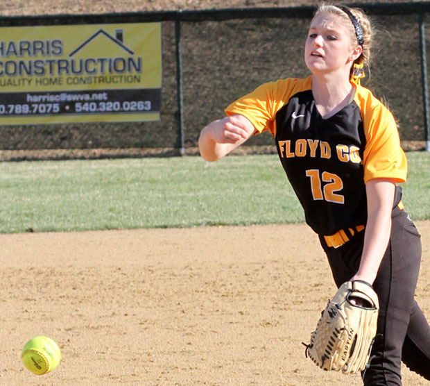 Ashley Gallimore struck out seven and allowed just one hit.