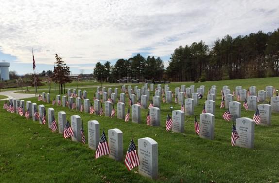 The Southwest Virginia Veterans Cemetery at Dublin.