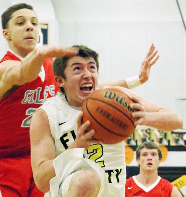 Evan Davis: 14 points and 12 rebounds (Photos by Doug Thompson)