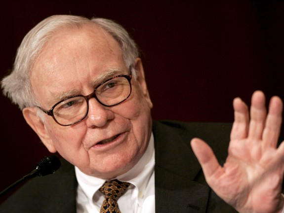 Warren Buffett: One of the few billionaires I respect and one of my bosses.