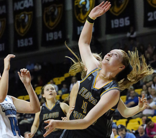Regan Wiseman: 24 points for her career final. (Photos by Doug Thompson)