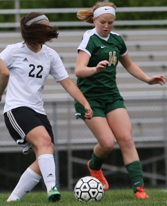 FCHS Girls lose in earlier game against Glenvar.