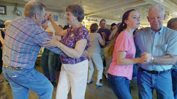 And a square dance is part of the action.