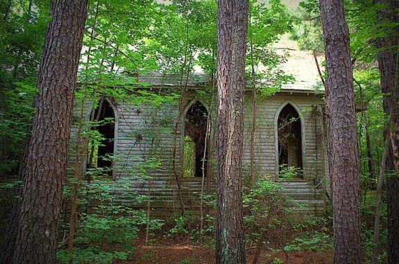 Abandoned church in North Carolina.