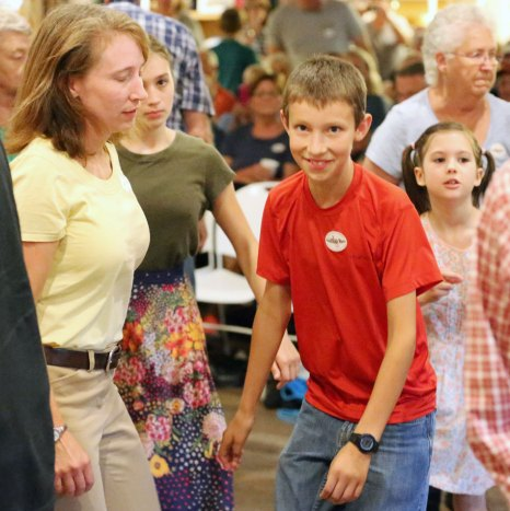 Dancing up a storm at the Friday Night Jamboree
