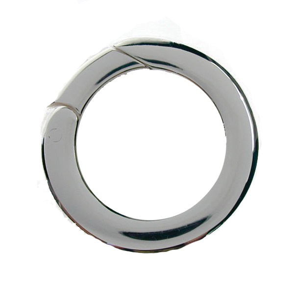 Continuous Round Sterling Silver Clasp 20mm
