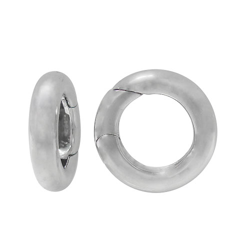 Continuous Round – Sterling Silver clasp, 15mm