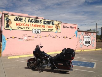 Electra Glide at Joe & Aggie's