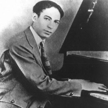 Jelly Roll Morton at the keys