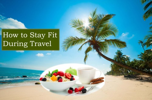 stay fit while travel