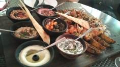 Mezze Platter at Zerruco