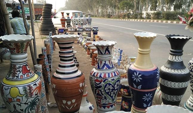 ceramics roadside shopping