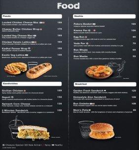 chaayos-menu
