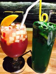 image of mocktails