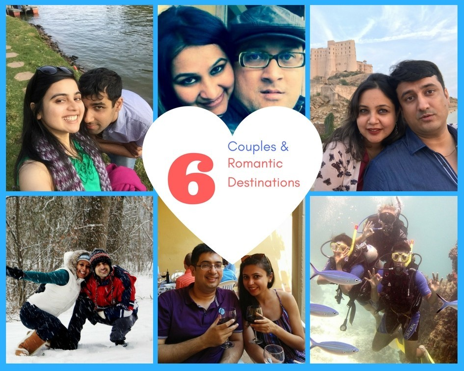 Travel Love: 6 Vagabond Couples & Their Favourite Romantic Destinations