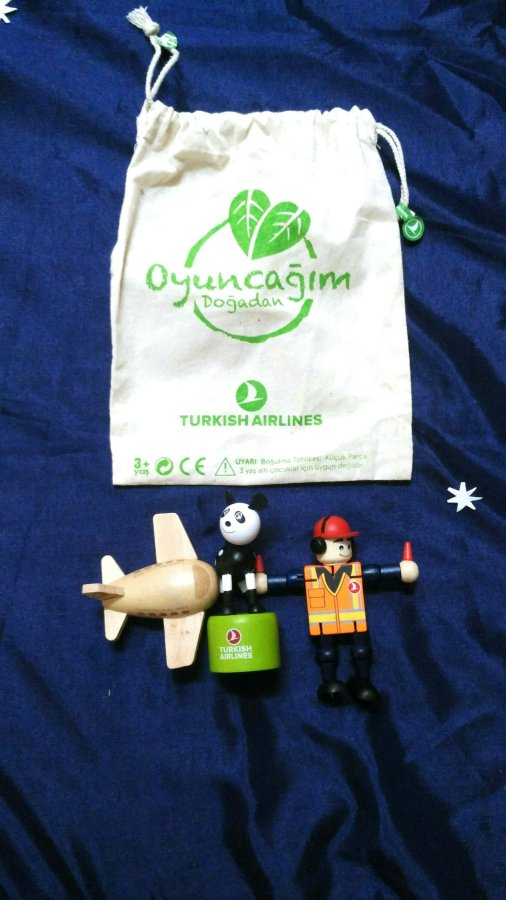 Turkish Airlines toys review