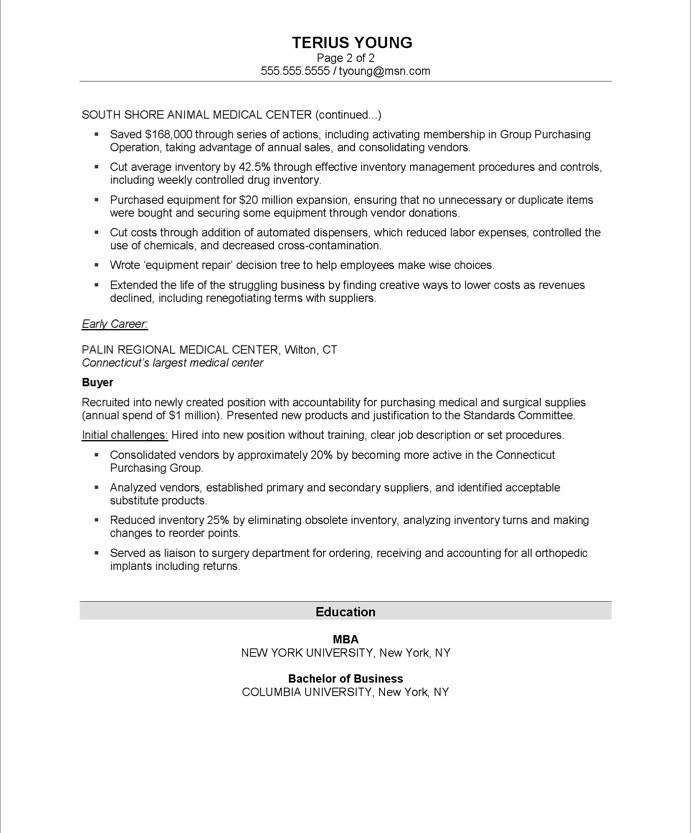 manager resume sample purchase resume for purchasing manager