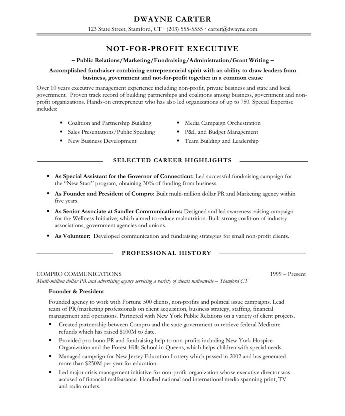 Resume Headings Samples. resume pca job resume cover letter sample ...
