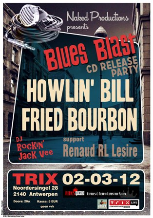CD Releases: Fried Bourbon en Howlin Bill