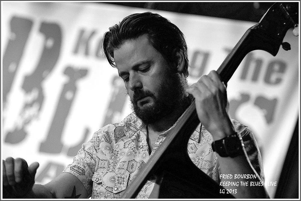 CLAUDE BOURBON 29-09-2013 Keeping The Blues A_live   (1)