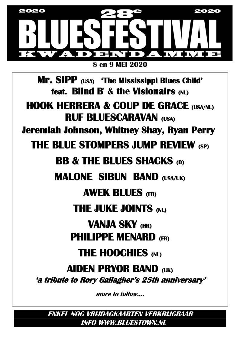 Kwadendamme Bluesfestival 2020