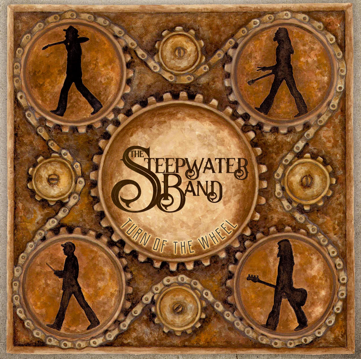 The Steepwater Band – Turn Of The Wheel