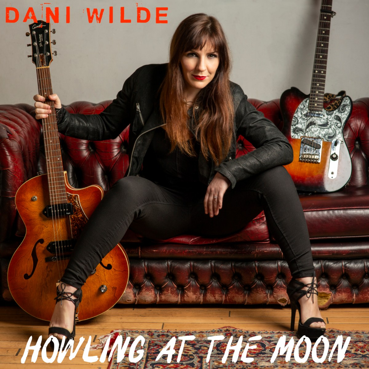 dani wilde howling at the moon