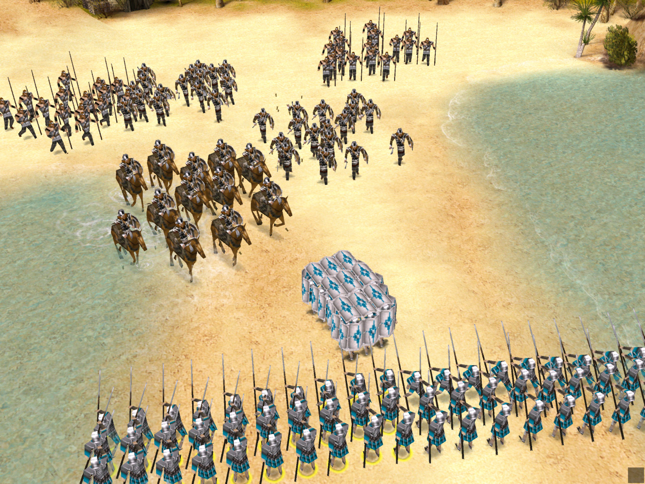 New Praetorians Screenshots Blues News