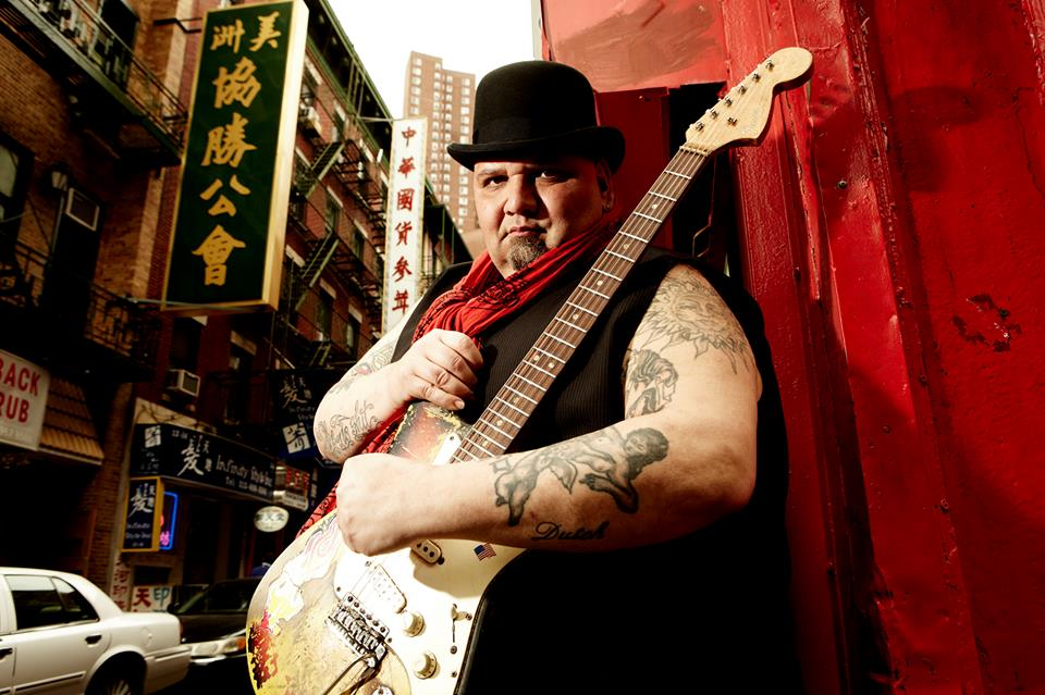 Popa Chubby giver fire koncerter i Danmark