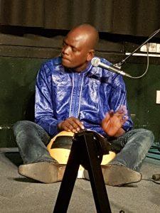 Ibrahim Séré på kalabas