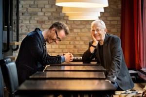 Michael Vestbo og Uffe Steen