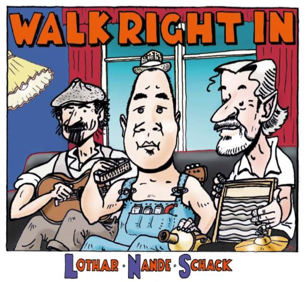 Anmeldelse: Lothar, Nande, Schack: Walk right in (Straight Shooter Records SHOT 22)