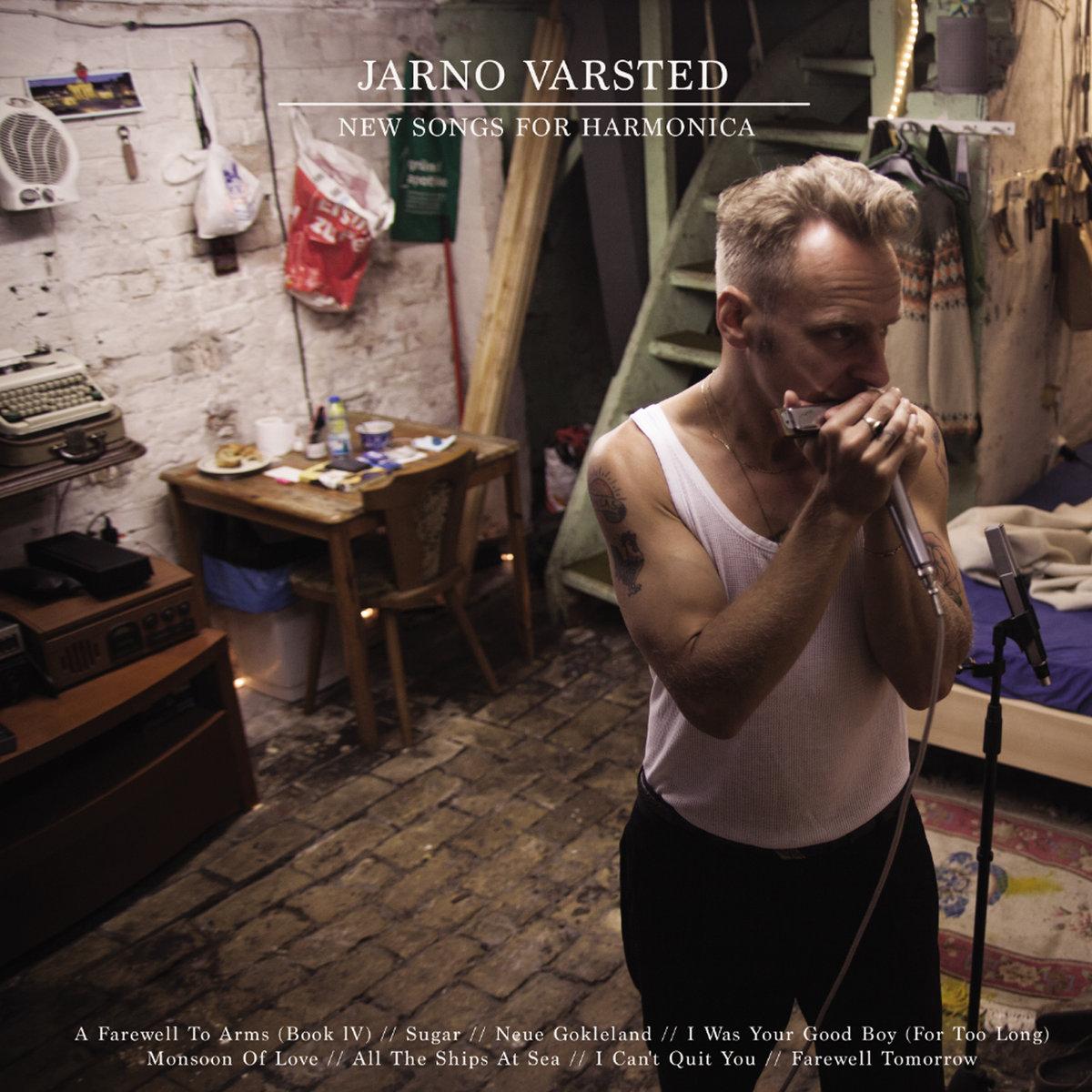 Anmeldelse: Jarno Varsted: New songs for harmonica (Red Rain Records RRR 004)