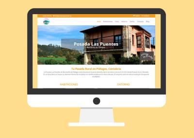 Web Posada Las Puentes