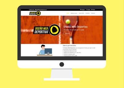 Diseño Página Web Diseño Web Deportiva