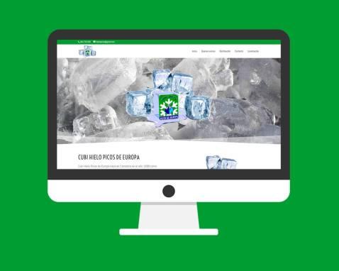 Página Web Cubi Hielo Picos